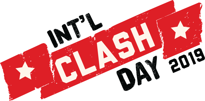 a6241e4b7a95 TUNE IN TO THIS THURSDAY FOR MUSIC FROM THE CLASH ALMOST EVERY HOUR AS WE  CELEBRATE INTERNATIONAL CLASH DAY 2019!